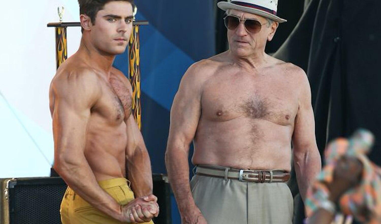Robert de Niro e Zac Efron em 'Tirando o Atraso', para muitos o pior filme de De Niro.