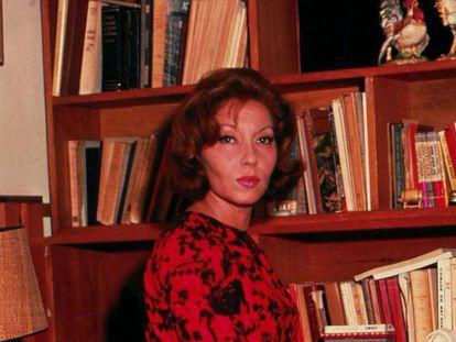 A escritora Clarice Lispector