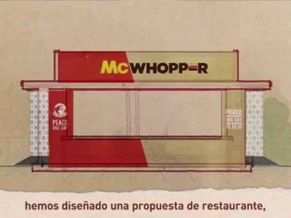Burger King oferece 'trégua' ao McDonald's na guerra do hambúrguer