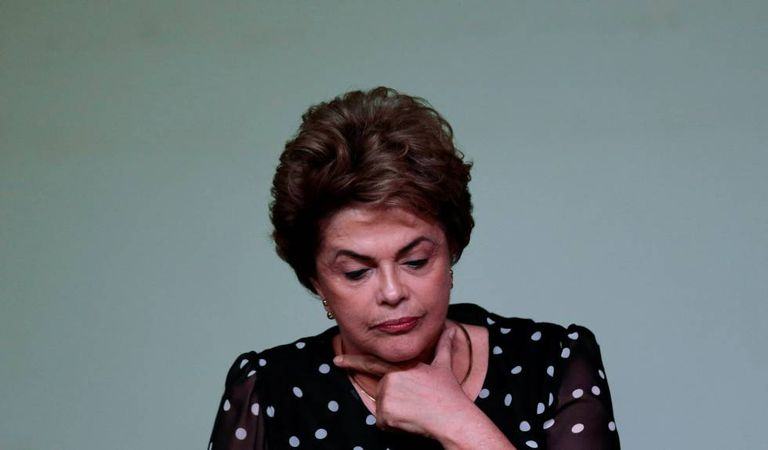 A presidenta Dilma Rousseff em maio.
