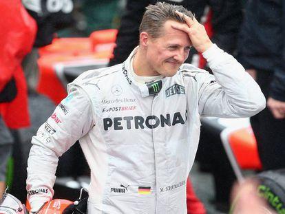Schumacher em 2012.