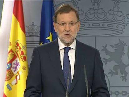 Ao Governo Catalão, premiê espanhol oferece diálogo e lealdade dentro da lei