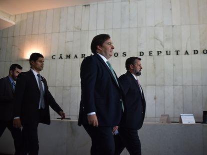 O presidente da Câmara dos Deputados, Rodrigo Maia, em 16 de março em Brasília.