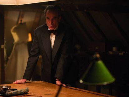 Daniel Day-Lewis, em 'Trama fantasma', um dos indicados ao Oscar de Melhor Filme.