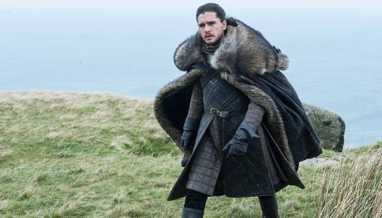 Kit Harington como Jon Snow na sétima temporada de 'Game of Thrones'.