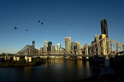 Vista da cidade australiana de Brisbane, sede dos Jogos Olímpicos 2032.