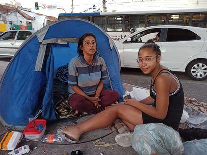 Vanessa Ferreira e sua filha, Maria Julia, vivem em Santana, Zona Norte de São Paulo.