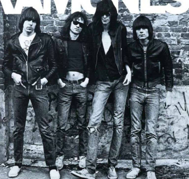 Os Ramones.