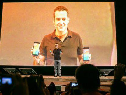 Hugo Barra, vice-presidente internacional de Xiaomi.