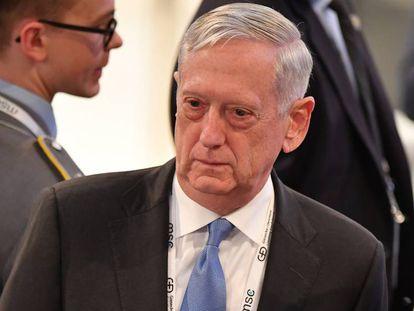 O chefe do Pentágono, Jim Mattis, nesta sexta-feira na Alemanha