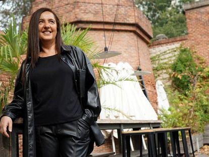 Nuria Varela, nesta quarta-feira, no espaço cultural Matadero de Madri.
