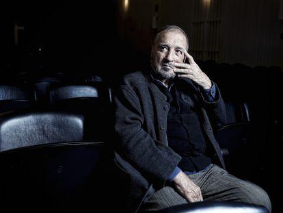 Jean-Claude Carrière em 2016, na estreia madrilenha da sua peça 'As Palavras e a Coisa'.