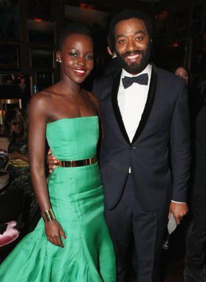Lupita Nyong'o and Chiwetel Ejiofor.