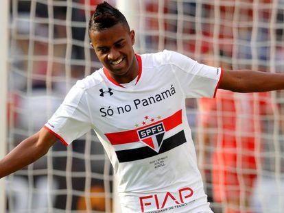 O São Paulo, de Kelvin (foto), passou pelo Toluca nas oitavas.