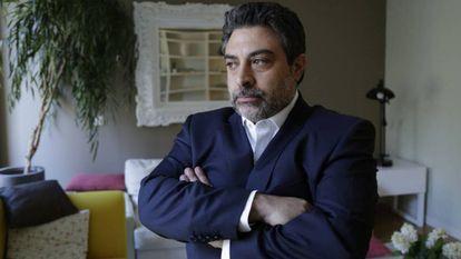 O advogado Rodrigo Tacla Durán, em 19 de julho de 2017, em Madri.