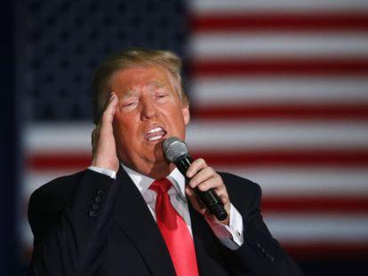 Donald Trump, em Wisconsin.
