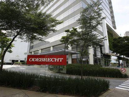 A sede da construtora Odebrecht em São Paulo