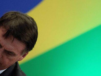 Bolsonaro em encontro de governadores eleitos em Brasília no dia 14 de novembro