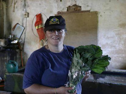 Nova versão da reforma da Previdência não altera regras para a aposentadoria rural das mulhres. Na foto, a agricultora Daniela Reis.