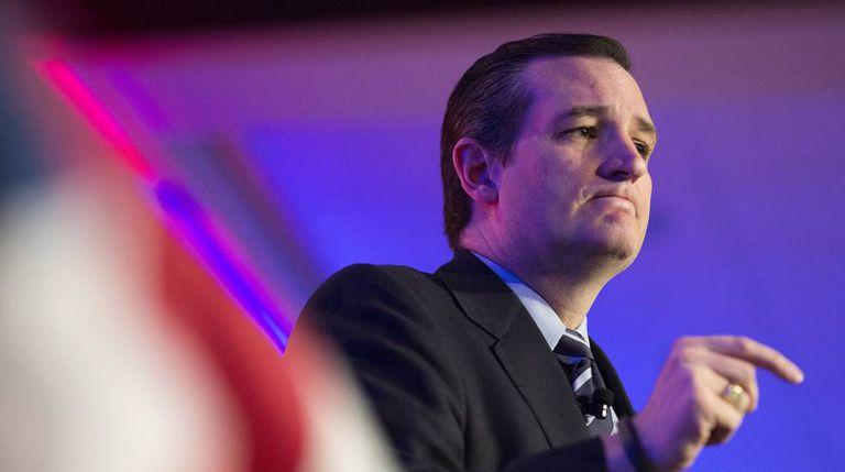 O senador republicano Ted Cruz.