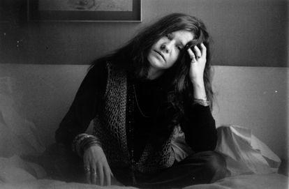Janis Joplin em Londres, em 1969.