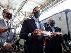 Brasil recibe el primer lote de la Coronavac, la vacuna contra la covid-19 desarrollada por el laboratorio chino Sinovac.