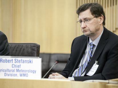 Robert Stefanski, especialista da Organização Meteorológica Mundial.