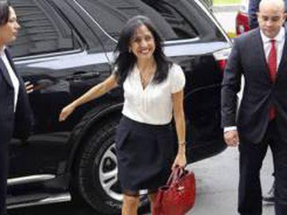A ex primeira dama do Peru, Nadine Heredia.