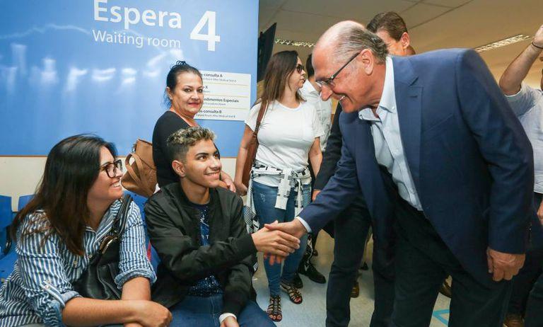 Alckmin em Ribeirão Preto.