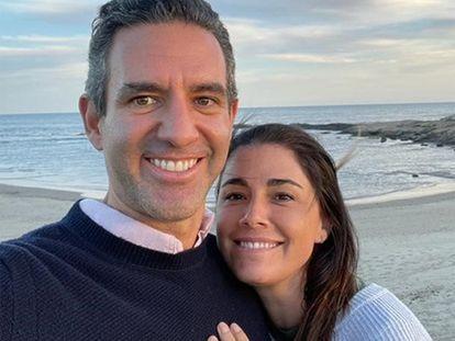 David Vélez, cofundador do Nubank, e sua esposa, Mariel Reyes, na selfie que incluíram na carta em que explicam os motivos da doação de suas fortunas.