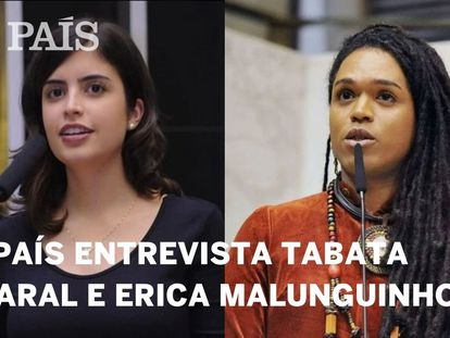 EL PAÍS entrevista as deputadas Tabata Amaral e Erica Malunguinho ao vivo nesta segunda-feira
