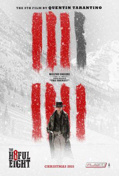 Um dos cartazes do novo filme de Tarantino.