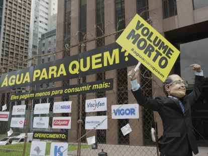 Campanha da Greenpeace contra os descontos para grandes consumidores.