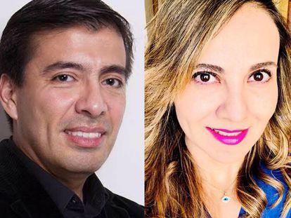 Juan Carlos García e Abril Pérez.