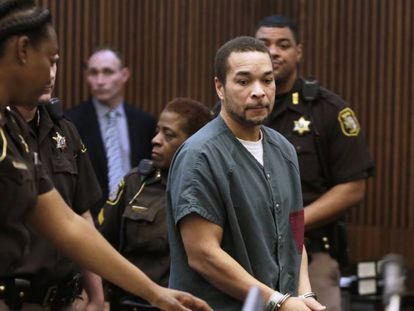 Gregory Green no tribunal em Detroit (Michigan) na semana passada.