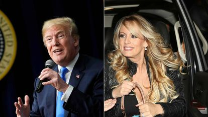 Donald Trump e Stormy Daniels