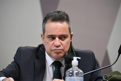 O coronel da reserva Elcio Franco, que foi número 2 no Ministério da Saúde e agora está lotado na Casa Civil.