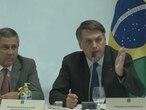 Bolsonaro en una captura del vídeo de la reunión ministerial difundido este viernes.