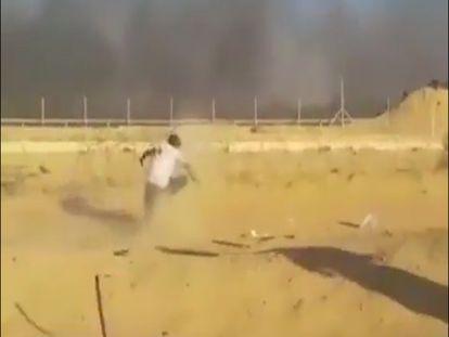 Vídeo mostra palestino de 16 anos abatido por disparos do Exército israelense em Gaza