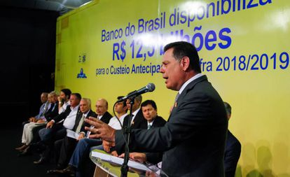 Marconi Perillo em janeiro, durante cerimônia em Rio Verde (GO).