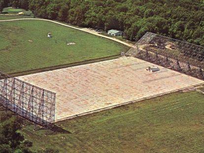 O radiotelescópio Big Ear, em Ohio (EUA), captou um estranho sinal em 1977.