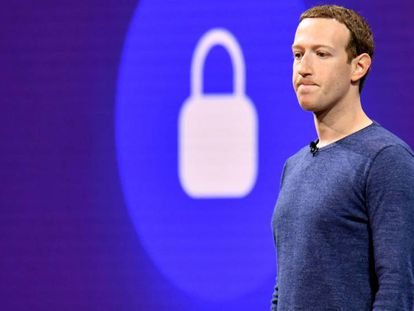 Mark Zuckerberg, executivo-chefe do Facebook, em uma imagem de maio.