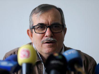 Rodrigo Londoño, ex-comandante das FARC, em uma imagem de arquivo.