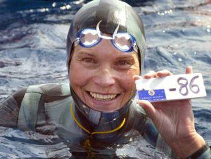 Terminam as buscas sob as águas da rainha do mergulho livre