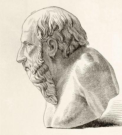 Diógenes de Sinope, sempre procurando homens honestos.