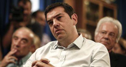 O primeiro-ministro grego Alexis Tsipras, em 5 de agosto.