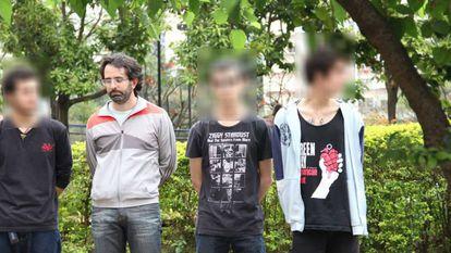 Willian Pina Botelho entre os detidos em 4 de setembro.