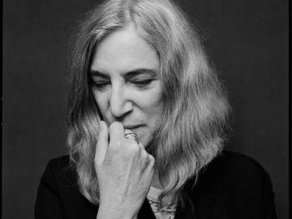 Patti Smith, em Nova York. A imagem integra o livro de retratos 'Two'