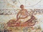 Los frescos fueron encontrados en el vestuario de las termas suburbanas de Pompeya (Fotografía: Soprintendenza speciale per i beni archeologici di Napoli e Pompei)