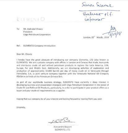 Carta Alessandro Bazzoni